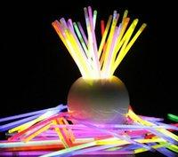 Parti Işık Sopa Kolye Yanıp Sönen 7.8''multi Sıcak Glow Renk Yenilik Konser Bilezik LED Neon LED Değnek Flaş Vokal Oyuncak Sopa Jllmt