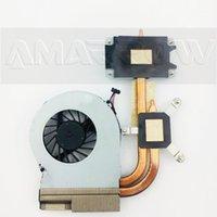 Original pour Pavilion G4 G6 G7 G4-2000 G6-2000 Disposition de chaleur de refroidissement avec ventilateur 712114-001 CPU1 fixe1