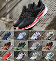 nike air max fashion shoes Nueva CNY zoom Pegasus 35 Turbo apenas gris caliente ponche Negro Blanco Zapatos para correr para hombre de las zapatillas de deporte deporte de las Zoom