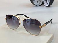RC 1091 جديد أعلى النظارات الشمسية النساء والرجال روبرتو بني داكن الأفعى طباعة الذهب براون النظارات الشمسية uv حماية البيضاوي الإطار يأتي مع القضية