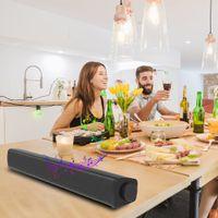 Mini Soundbar, Wired Wireless Home Theater Audio Stereo Sound Bar, Esterno / Interno Bluetooth Stereo Speaker con telecomando