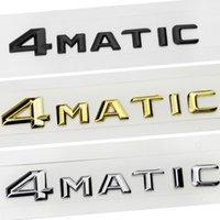 자동차 스타일링 2015 4MATIC 4 MATIC 로고 엠블럼 배지 벤츠 S500 GLS63 E320L GLE400 GLK260 R400 CLA45에 대 한 배지 데칼 스티커