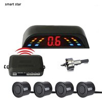 Auto drahtloser Parkplatz Parktronic Auto blind Sensor Kit Zigarettenanzünder Lade LED-Anzeige Detektor Hilfsumkehrung1