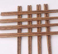عيدان خشبية الطبيعية دون الطلاء الشمع أدوات المائدة أواني الصينية النمط الكلاسيكي قابلة لإعادة الاستخدام الطبيعي السوشي عيدان KKA8157