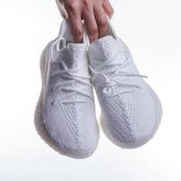 Nouveaux hommes Chaussures Femmes Sneakers Yecheil Noir Statique Sports réfléchissants Chaussures de course Syntand Antlia V2 Glow Argile Beluga 2.0 Beurre semi formateurs