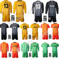 13 Oblak Goalkeeper Jersey Kids 축구 키트 어린이 축구 유니폼 긴 소매 유아 소년 키트 스포츠 유니폼 세트