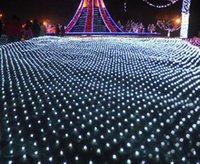 4x1.5M guirnaldas de Navidad Fiesta de Navidad 300 LED cadena luces netas Hada de Navidad de la boda del jardín Decoración luces de la cortina
