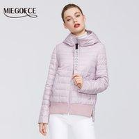 Hood Spor Sınıf Jacket 201014 ile MIEGOFCE Bahar Kadın Koleksiyonu Pamuk Kadınlar Bahar Ceket Kısa Süre Dayanıklı Yaka