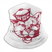 État de Washington Cougar Paisley Magic Design Anti-UV Bandana cou Visage Sport magique Bandeau Bandanas Bib