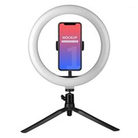 10 Inch LED Ring Light Beauty Fill- in Light Dimmable 3 Light...