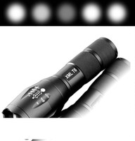 Cree XML T6 5000Lm High Power LED Zoom Tactical LED Flashlight torch lantern hike Travel light 18650 Rechargeable battery