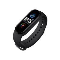 M5 Anruf Smart Watch Smartband Sport Fitness Tracker Smart-Manschetten-Blutdruck-Echtherzfrequenzmesser Wasserdicht Smartwatch VS M3 M4