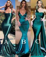 Stilvolle Frauen Abendkleider Sexy Backless Mermaid Spaghetti Strap Gerade Lange Abendkleider Prom Party Kleid Vestidos de Fiesta Billig