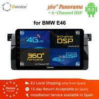 소유주 K1 K2 K5 K6 Octa 8 코어 자동차 DVD 플레이어 E46 탐색 안드로이드 9.0 GPS 라디오 RDS 2G 32G 360 파노라마 DSP 4G LTE1