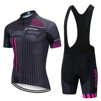 카모 팀 남자 사이클링 저지 세트 MTB 자전거 의류 여름 반소매 셔츠 턱받이 반바지 정장 자전거 Ropa Ciclismo 스포츠 유니폼 022715