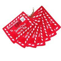 Рождественская открытка мини-сумка дерево 2020 Санта-Клаус открытый безделушка подвеска подарок красная печать оформление конверта 1 1 1 год F2