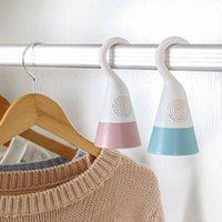 3 couleurs mini déshumidificateur pour penderie à la maison Sèche-linge suspendu avec boîte d'absorption de l'humidité du dessiccant