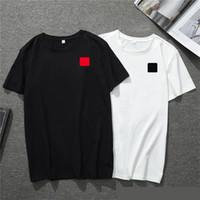 2020 Новая Мужская футболка Европейская Американская Популярная Маленькая Красная Сердце Печать Футболка Мужчины Женщины Пары Футболка