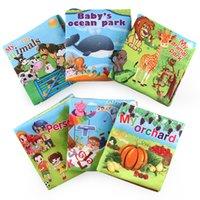 القماش كتاب الطفل ذكاء تطوير تربية لعبة لينة قماش التعلم كتب لل0-12 شهور الاطفال هادئة كتاب JUGUETES بيبي