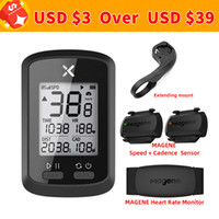 XOSS G Bike Computer Wireless GPS Speed ​​Speed ​​Nettère Cyclisme Vélo Odométrique Vélo Bluetooth Sync Cycle ant + 201120