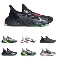 الجديد في الهواء الطلق الرجال X9000L4 الاحذية أعلى جودة باسف رمادي ستة لدت الثلاثي رجل أسود حذاء رياضة مدرب الأزياء تنفس