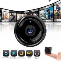 Mini caméra sans fil WiFi caméra de surveillance à distance pour la sécurité Accueil Boutique Bureau