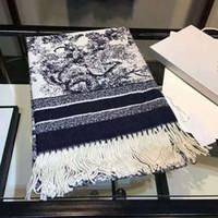 2020 Fashion Winter Sciarpa Cashmere caldo per le donne Uomo Tigre Long Sciarpe con filo d'argento Scialli involucro
