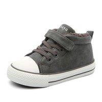 바바야 겨울 어린이 신발 1-6 세 아기 겨울 신발 2020 새로운 키즈 부츠 여자 아이들을위한 부츠 캐주얼 신발 소년 LJ201201