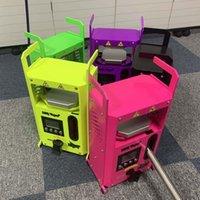 Authentische KP-4-ROIN-Pressemaschine von LTQ Vapor KP4 Wachs DAB Squeezer Temperatur Einstellbar Extrahierwerkzeug-Kit-Näher mit 4 Tonnen DHL