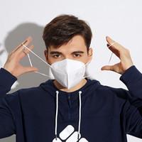 KN95 FFP2 CE PM2.5 Poussière anti-poussière 95% Masque de filtre respirant Masque de nez en métal confortable extérieures FFP2 Caractéristiques de protection