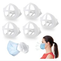 3D Mask Bracket for Adult Child Lipstick Protection Stand Mask Inner Support For Breathe Freely Face Masks Holder Tool Accessories LJJP564