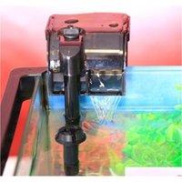 Sunsun 2W 5W multi-função aquário filtro externo pendurado tanque de peixes do filtro de filtro de filtro pendurado O Qyldot embalagem2010