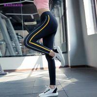 RAIBAALLU Femmes Yoga Pantalons Solitis Gym Collants High Taille Hip Up Sport Leggings Séchage rapide Pantalon Pantalon Plein Longueur1