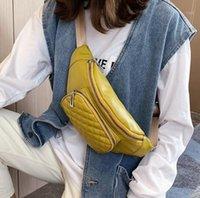 Saco de cintura saco de cinto senhoras moda pu multifuncional seção oblíqua ao ar livre lazer selvagem viagens de lazer de cor peito de cor fêmea1
