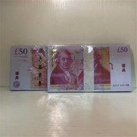 Beste Qualität Requisiten Spielen Britisches Pfund Spielzeug Requisiten Bar 50 Auto Geld PQFVI Banknoten P25 Spielzeug Kindermünzen Rechnungen CQAKG