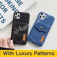 Moda Telefon Kılıfı Için iPhone 12 Pro Max 11 Pro Max 7/8 Artı Tasarımcı Kapak iphone x XR XS Kart ile Max