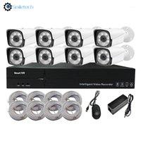 H.265 Résolution 3MP Kit de caméra Poe NVR 1080P Kits de caméra IP Poe 8CH Home Home SURVEILLANCE CAMERAS Système de sécurité1