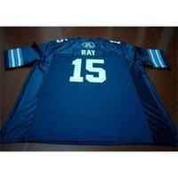 Benutzerdefinierte 2 Jugendfrauen Vintage Toronto Argonauts Ricky Ray # 15 Football Jersey Größe S-4XL oder Benutzerdefinierte Name oder Nummer