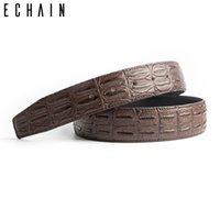 أحزمة Echain حزام الرجال مع مشبك النحاس