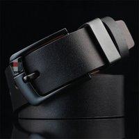 PD001 Cummerbunds 패션 바늘 버클 캐주얼 벨트 남자 브라운 블랙 커피 좋은 품질의 2pcs와 함께 3 색