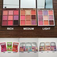 Marka Yeni Makyaj Gözler Güzellik Paleti Mini 9 Renkler Göz Farı Paletleri 12 Modelleri Ücretsiz Kargo