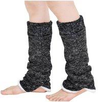 여성 겨울 긴 따뜻한 다리 커버 두꺼운 차가운 증거 봉제 부드러운 따뜻한 양말 패션 콜드 보호 레이디 레깅스 발 따뜻한 2021
