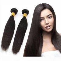 Brazilian Virgin Hair trança em pacotes sem costurar sem crochê não processado brasileiro reto kinky estilo brasileiro cabelo virgem