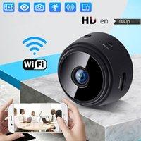 Gözetim IP Kamera Wifi Mini Kamera Web Wifi Gece Görüş 1080 P HD Kamera Ev Açık 360 Kablosuz Webcam Bebek Monitör1