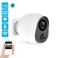 % 100 Tel-Free Pil IP Kamera 1080P Açık Kablosuz Hava Güvenlik WiFi Kamera CCTV Gözetim Akıllı Alarmı