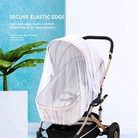 Baby Stroller Pushchair Mosquito Insect Shield Net Safe Infants Protection Mesh Stroller Accessories Cart Mosquito Net Hot Sale