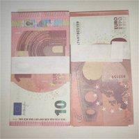 Моделирование 10 евро контрафактные деньги игрушечные фильма стрельба реквизиты детские игрушки атмосферы реквизиты игры банкноты 100 а7