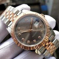 10 Style Mens Roman Wimbledon Automatico Super BP Factory V2 orologio Gold Gold Bracciale Braccialee Bracciale da uomo 41mm Sapphire Glackwatch per orologi da polso