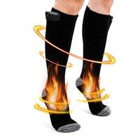 Sports Socken elektrische heizung winter männer frauen einstellbare temperatur lithium batterie 3,7 v elastische draht