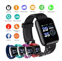 116 plus intelligente Uhr 116Plus Multifunktionssport Armband Smart Armband IP67 Fit Bit Smart Digital Armbanduhren Heiß heiß